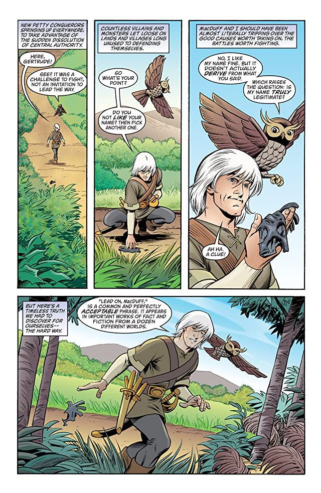 click for super-sized previews of Jack of Fables #38