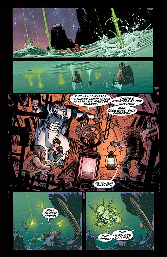 click for super-sized previews of Joe the Barbarian #3