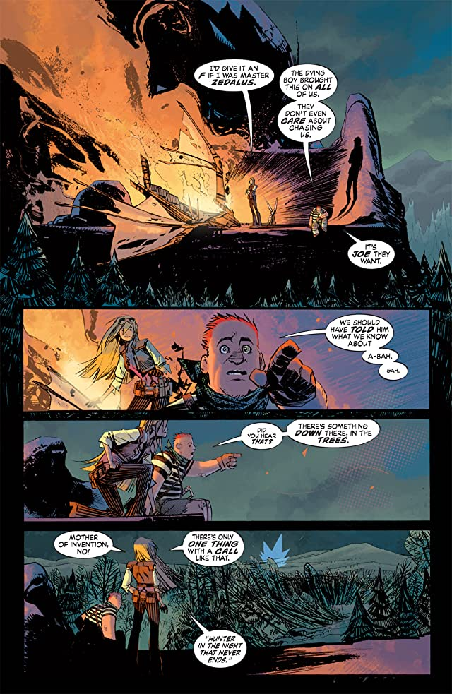 click for super-sized previews of Joe the Barbarian #5