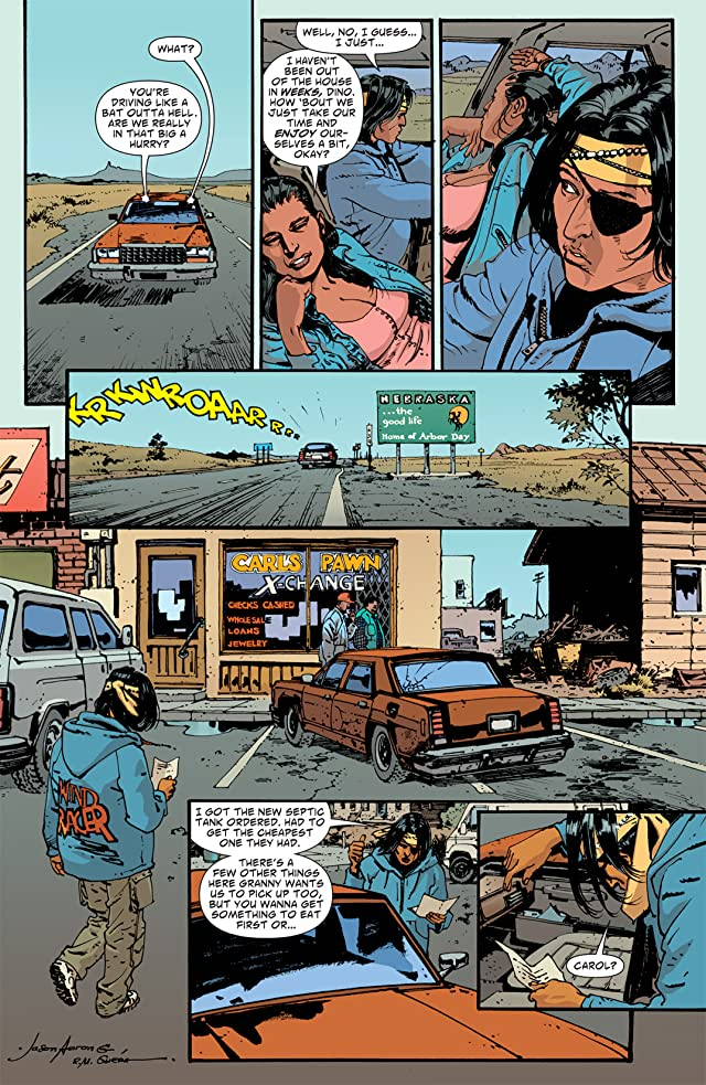 click for super-sized previews of Scalped #47