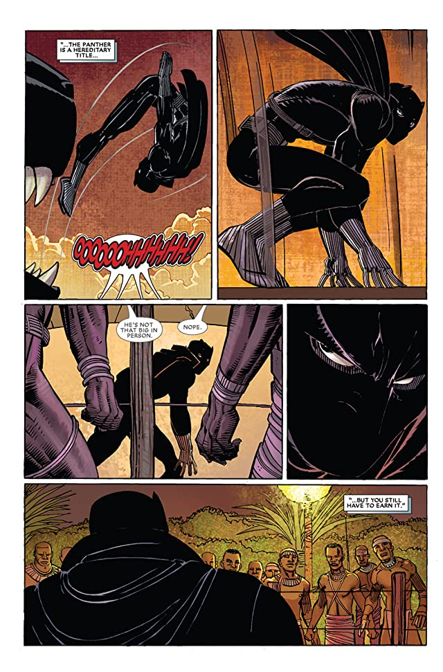 click for super-sized previews of Black Panther (2005-2008) #2