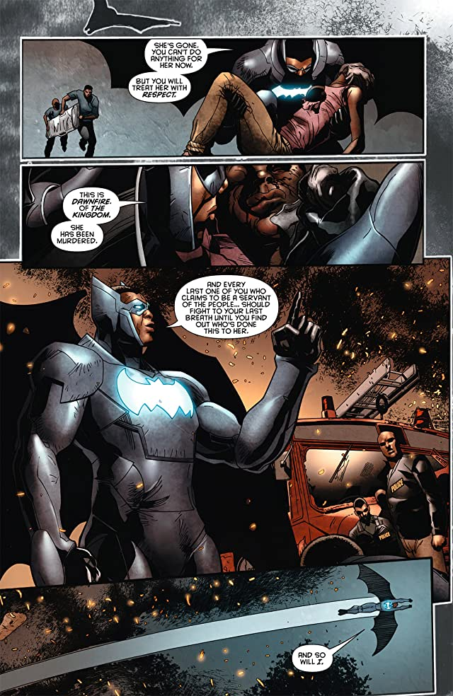 click for super-sized previews of Batwing (2011-2014) #4