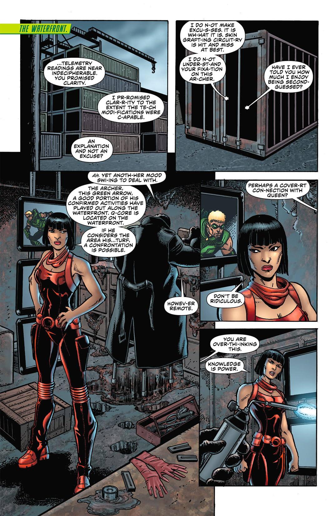 Green Arrow (2011-2016) #4