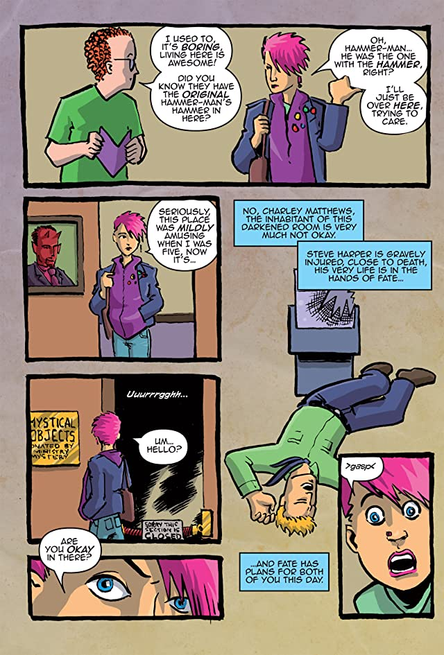 click for super-sized previews of Hypergirl #1