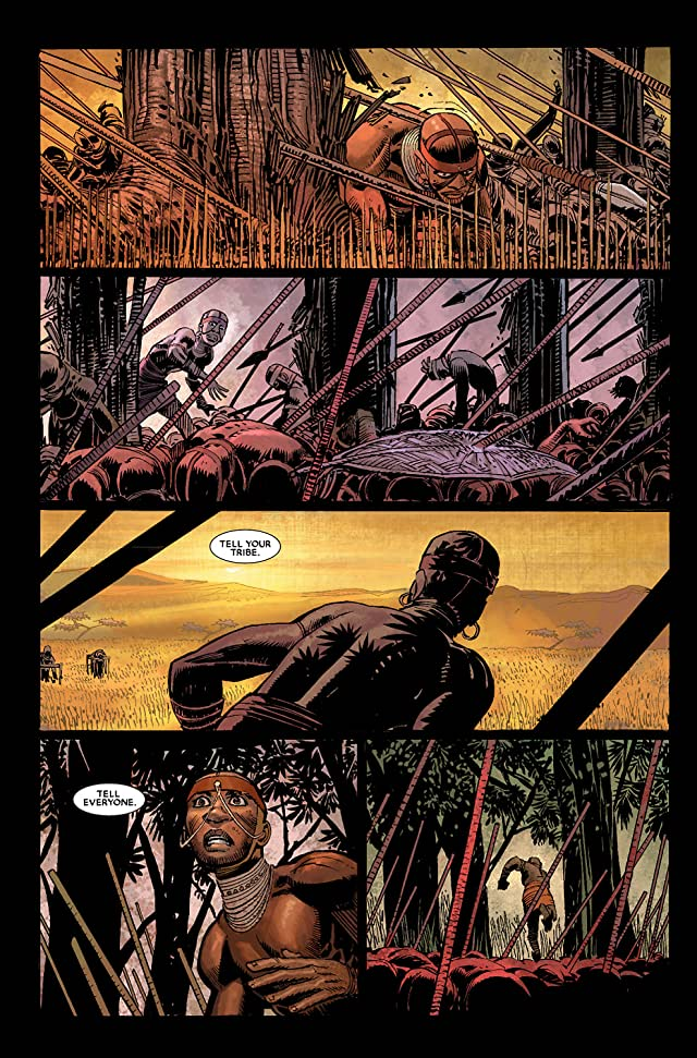 click for super-sized previews of Black Panther (2005-2008) #1
