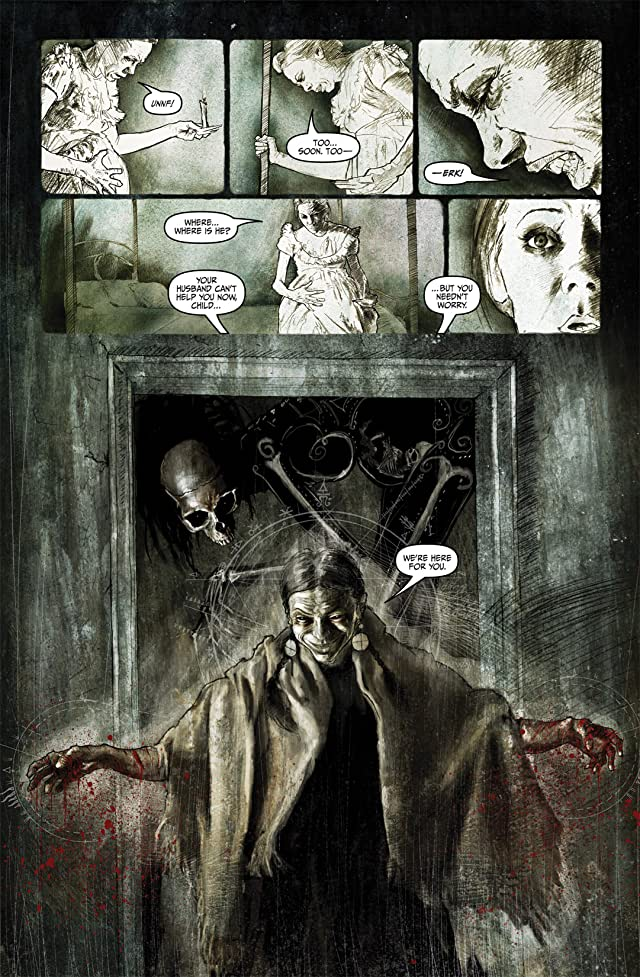 click for super-sized previews of Silent Hill: Past Life #4