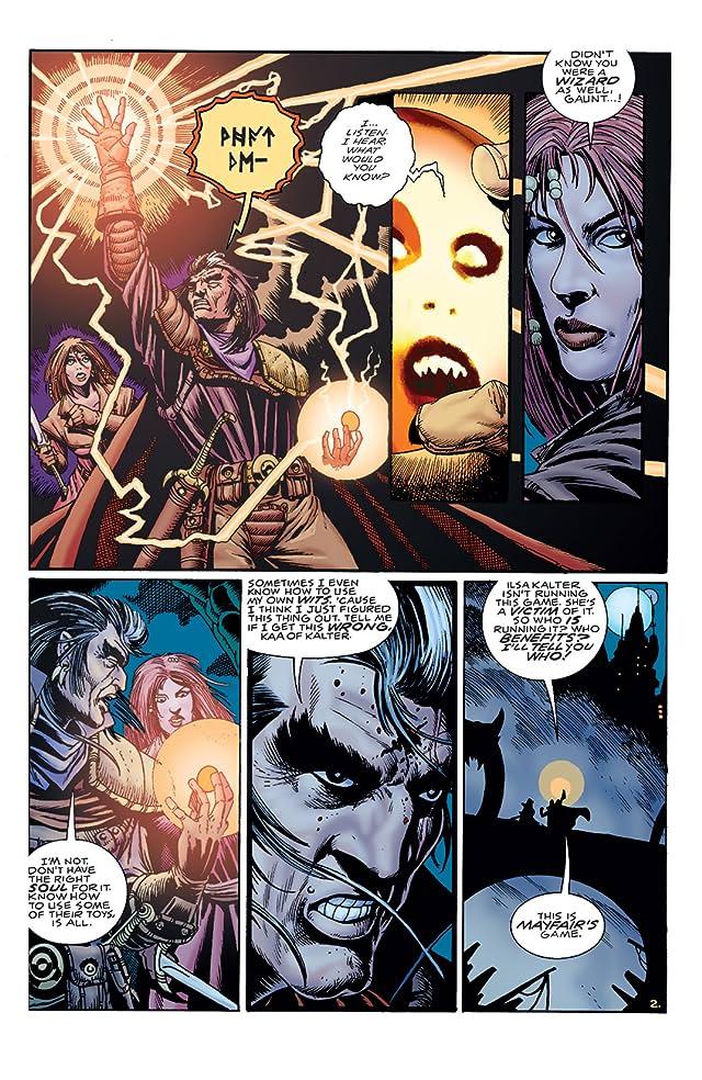 click for super-sized previews of GrimJack: Killer Instinct #5