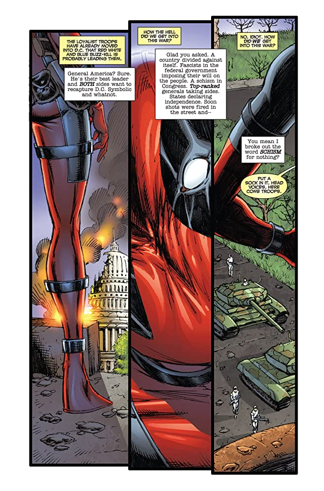click for super-sized previews of Prelude To Deadpool Corps #1