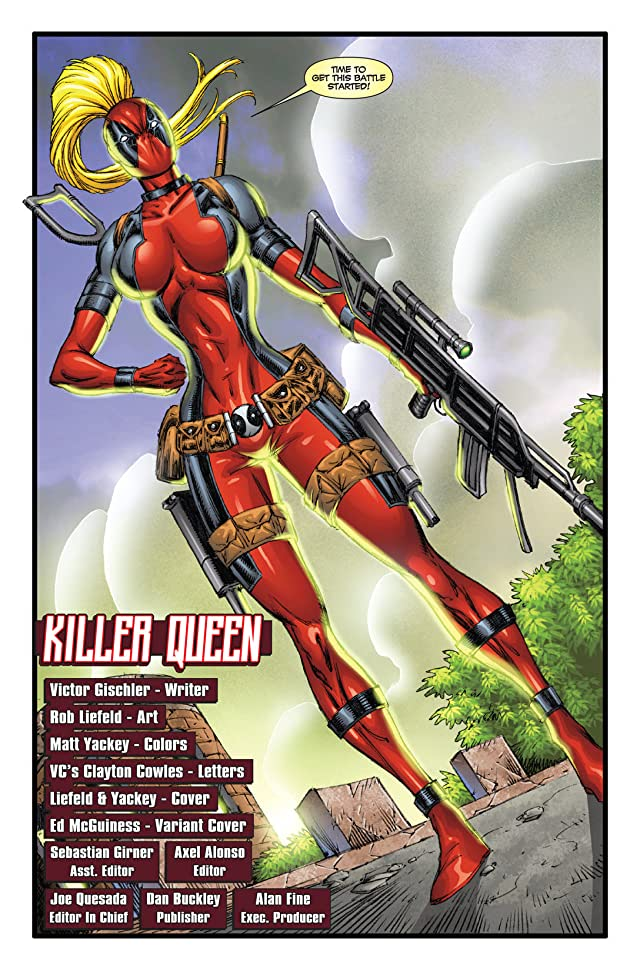 click for super-sized previews of Prelude To Deadpool Corps #1 (of 5)