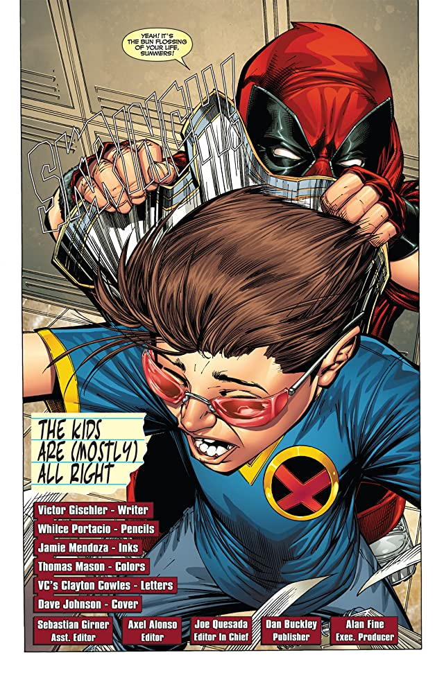 click for super-sized previews of Prelude To Deadpool Corps #2 (of 5)