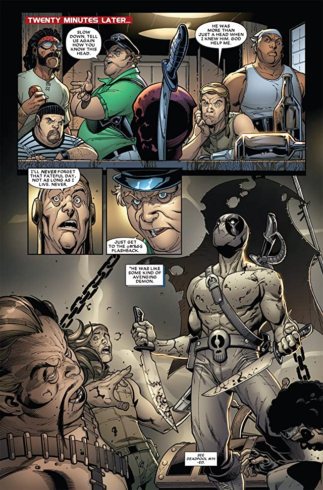 click for super-sized previews of Prelude To Deadpool Corps #4