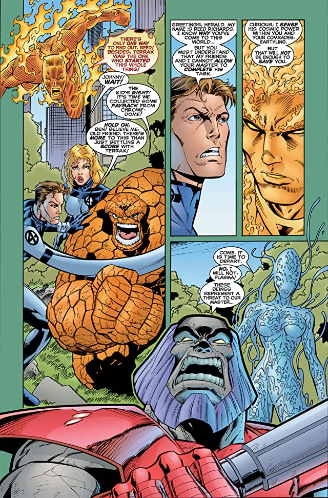 click for super-sized previews of Fantastic Four (1996-1997) #12