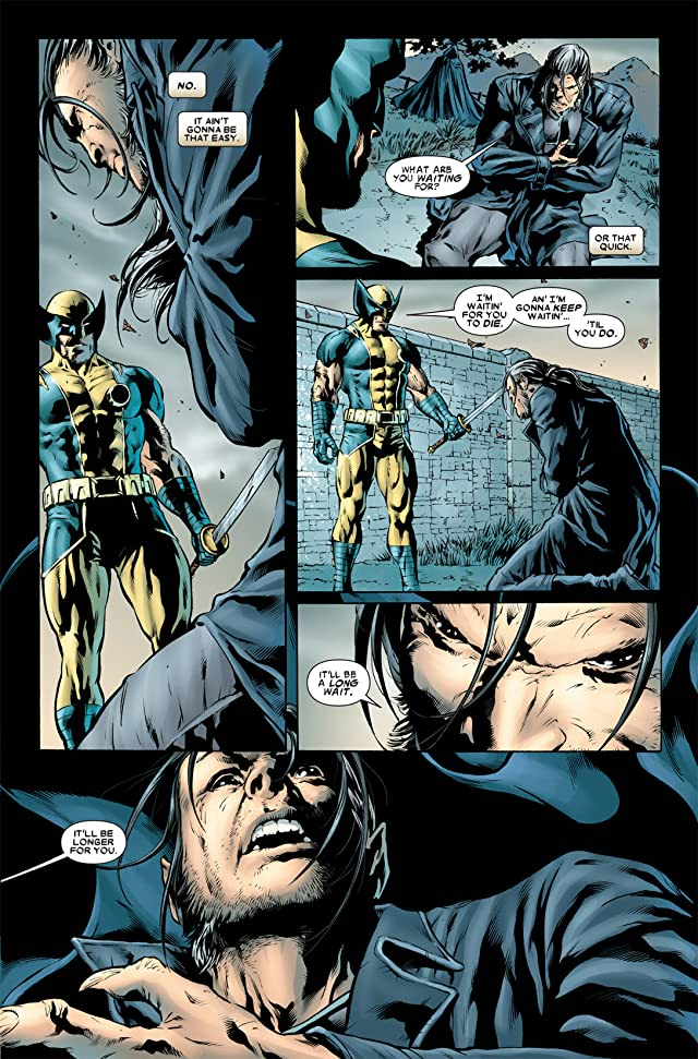click for super-sized previews of Wolverine: Origins #48