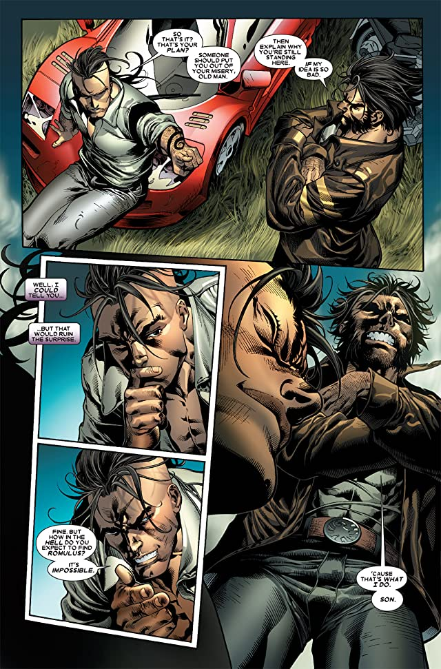 click for super-sized previews of Dark Wolverine #85