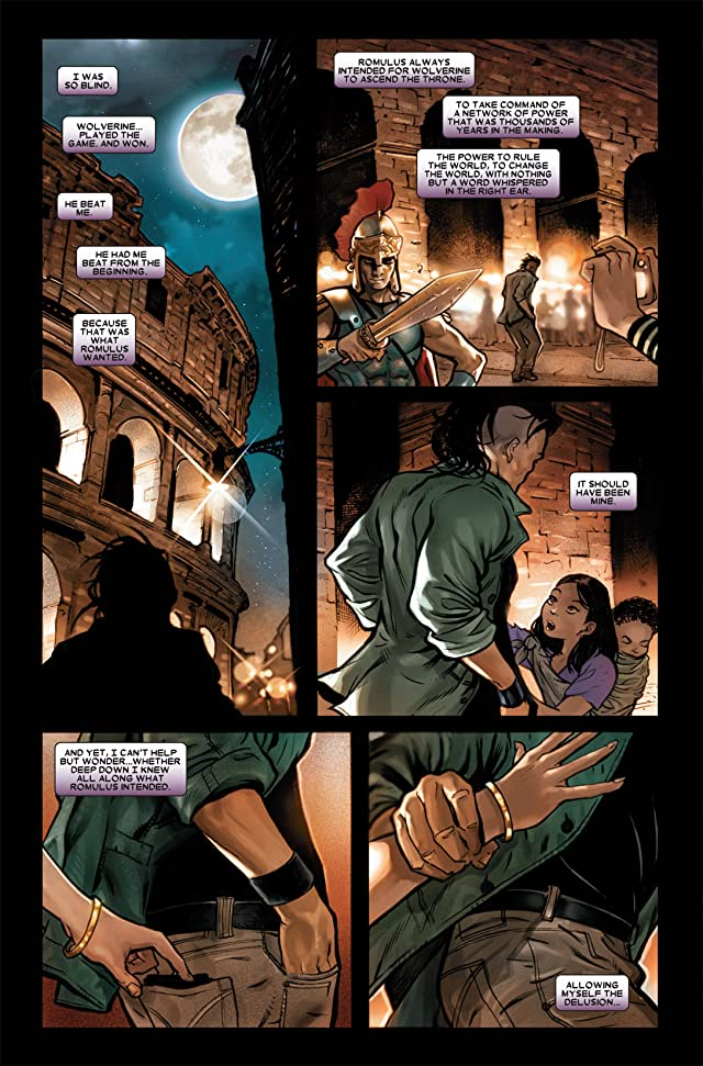 click for super-sized previews of Dark Wolverine #87