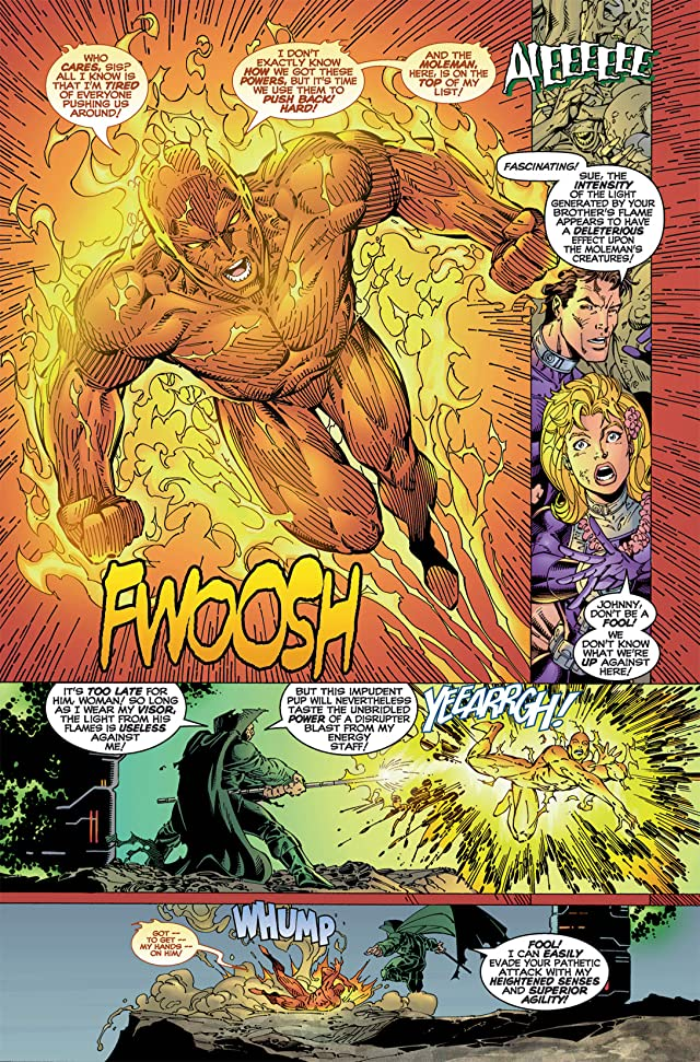 click for super-sized previews of Fantastic Four (1996-1997) #2