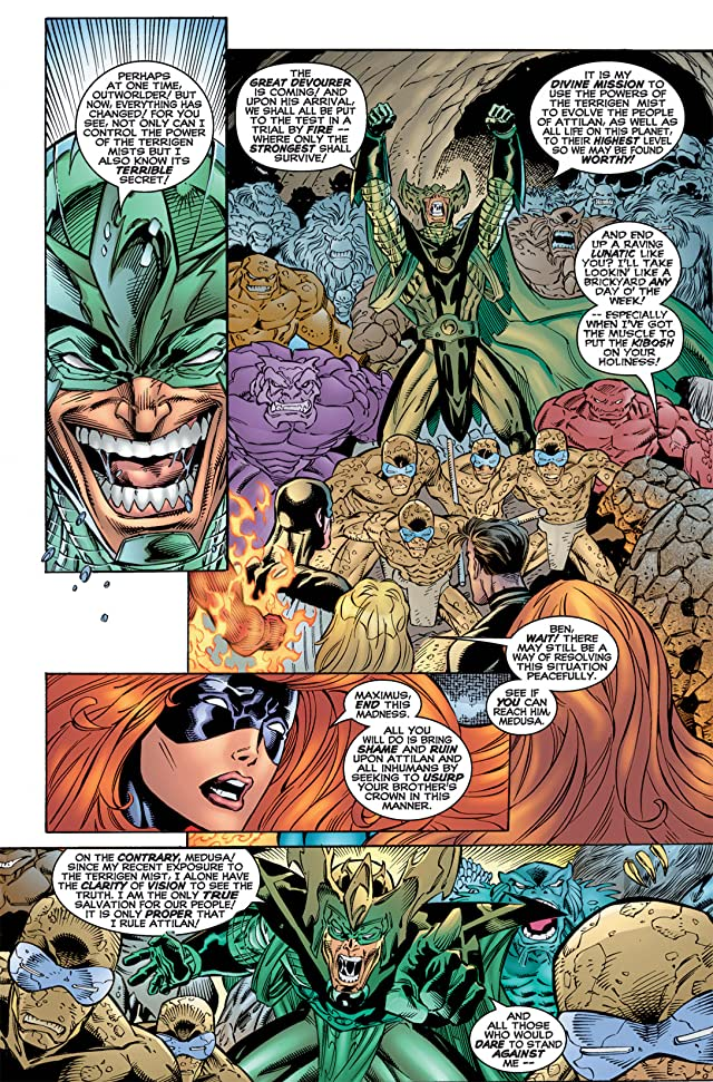 click for super-sized previews of Fantastic Four (1996-1997) #10