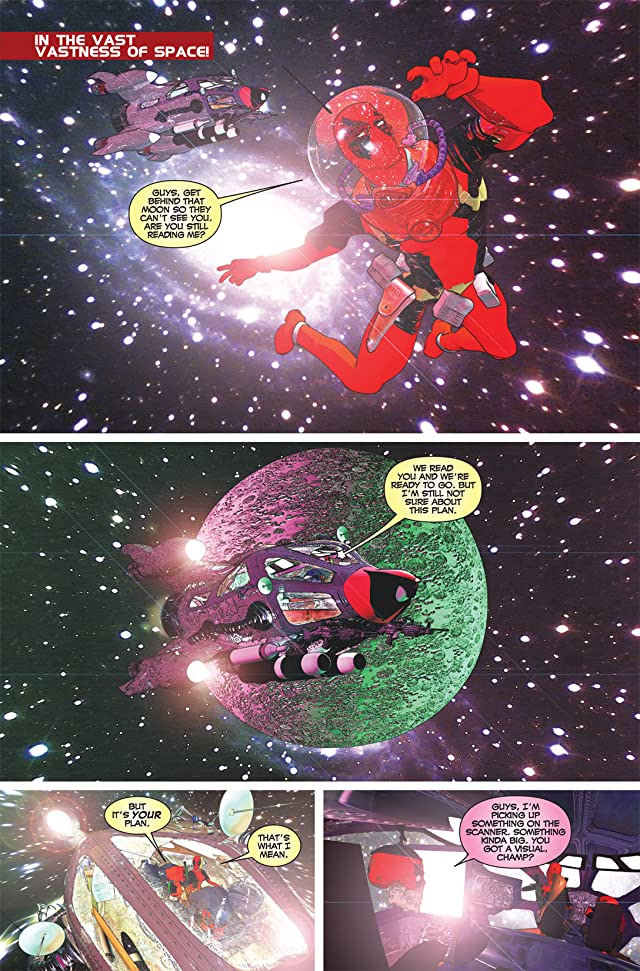 click for super-sized previews of Prelude To Deadpool Corps #5 (of 5)