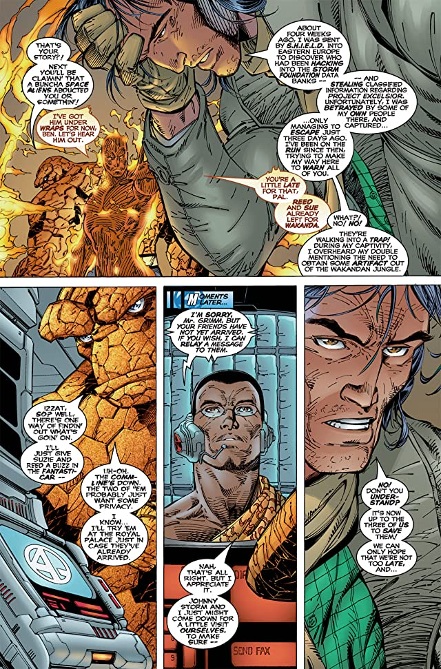 click for super-sized previews of Fantastic Four (1996-1997) #5