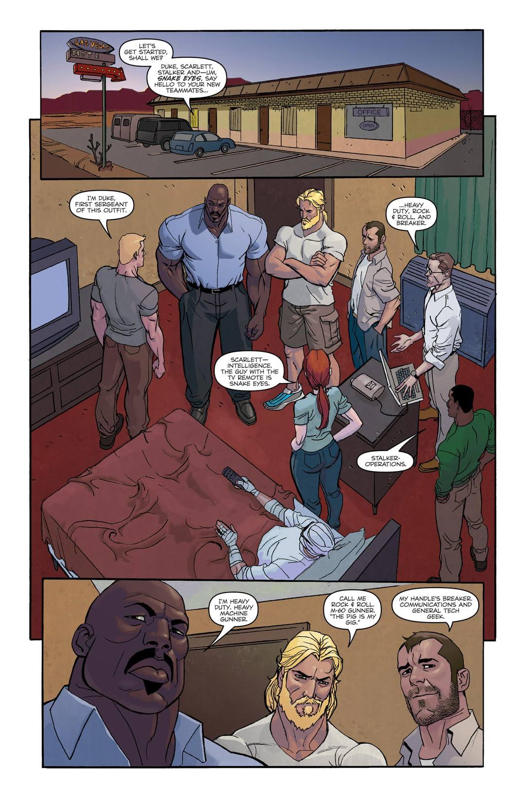 G.I. Joe: Origins #3