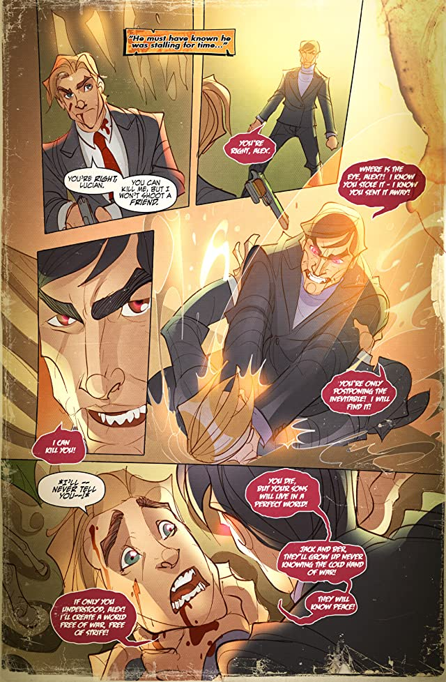 click for super-sized previews of Jack Avarice IS The Courier #4