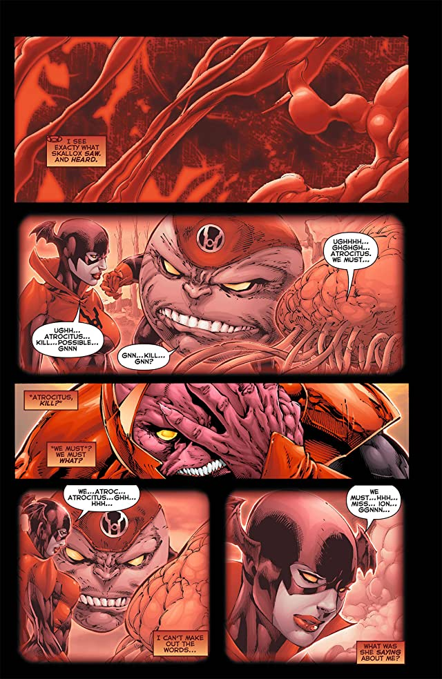 click for super-sized previews of Red Lanterns (2011-2015) #4