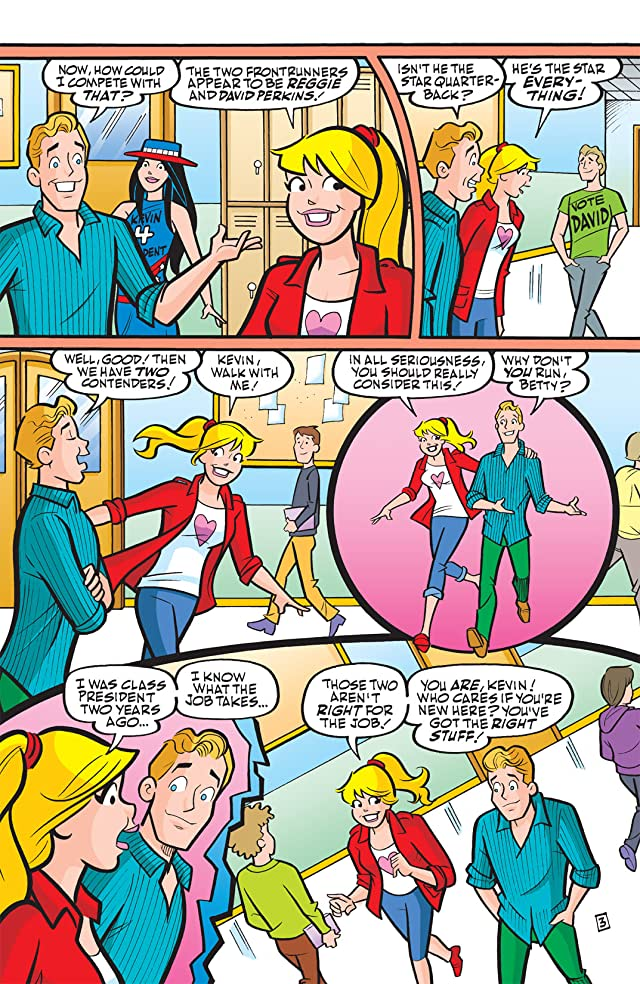 click for super-sized previews of Veronica #210: (Veronica Presents Kevin Keller #4)