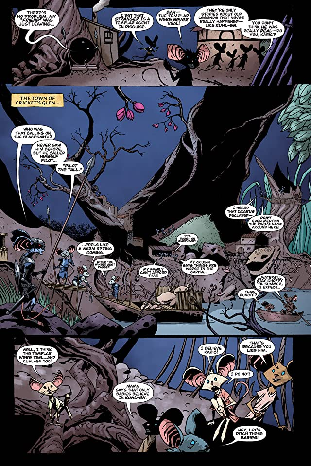click for super-sized previews of The Mice Templar #1
