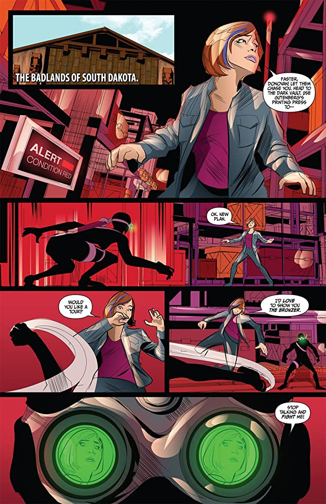 click for super-sized previews of Warehouse 13 #3