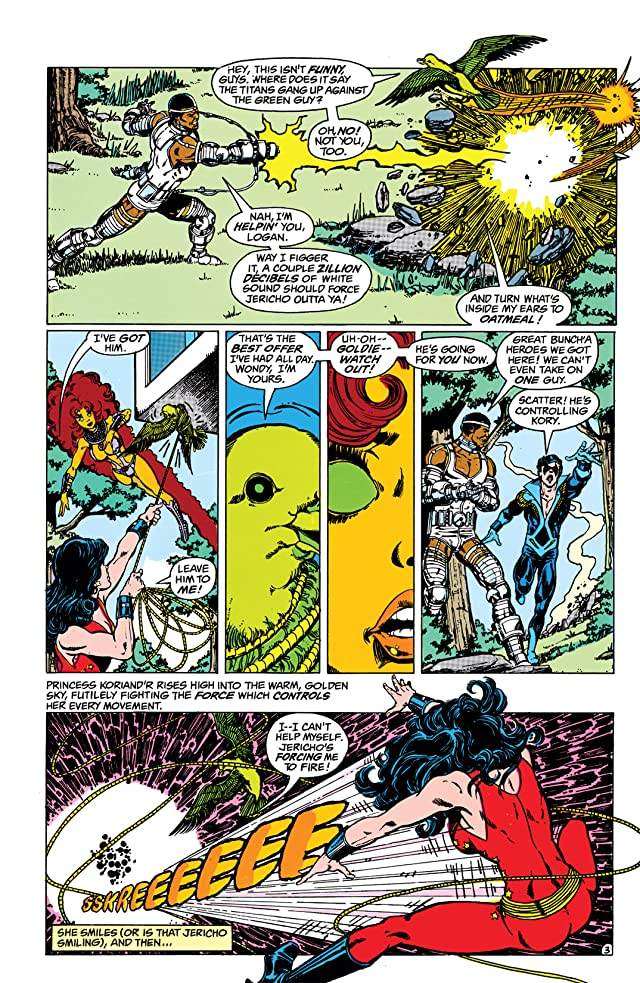 The New Teen Titans (1984-1996) #1