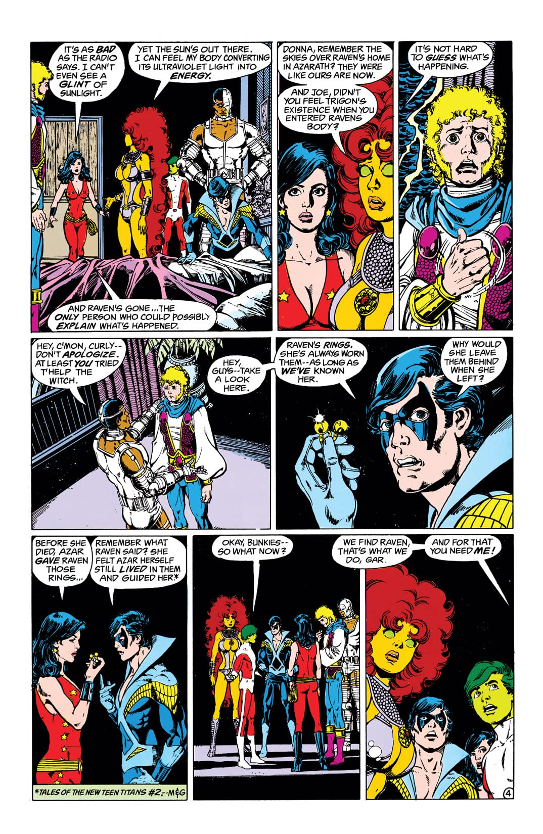 The New Teen Titans (1984-1996) #2