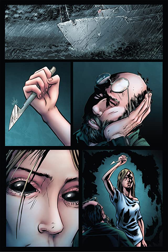 click for super-sized previews of Vessel of Terror #2 (of 5)