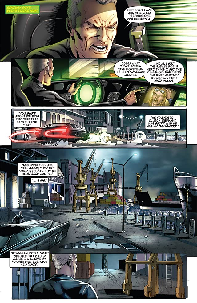 click for super-sized previews of Green Hornet #18