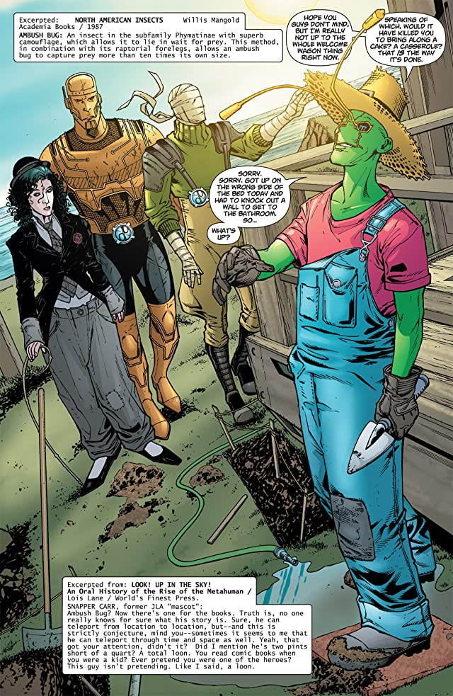 click for super-sized previews of Doom Patrol (2009-2011) #11