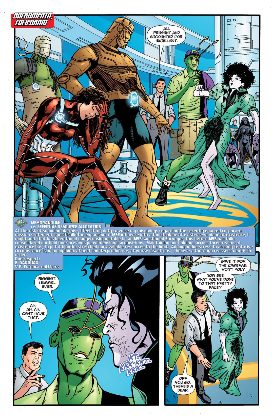 Doom Patrol (2009-2011) #12
