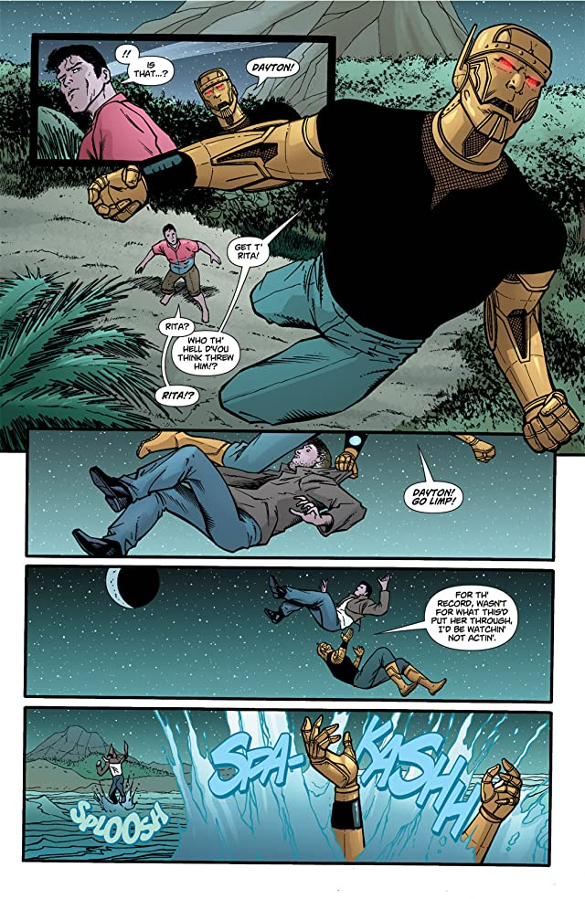 click for super-sized previews of Doom Patrol (2009-2011) #14