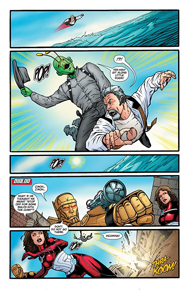 click for super-sized previews of Doom Patrol (2009-2011) #15