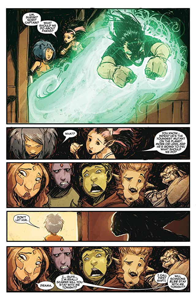 click for super-sized previews of New X-Men (2004-2008) #43