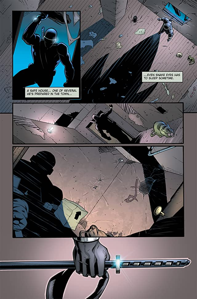 click for super-sized previews of G.I. Joe: Snake Eyes #3