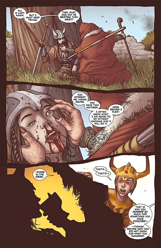 click for super-sized previews of Demon Knights (2011-2013) #4