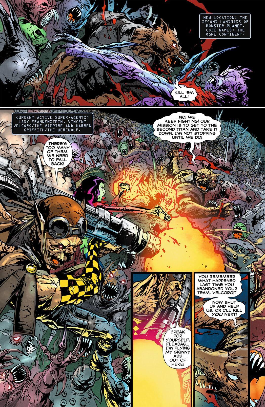 Frankenstein, Agent of SHADE (2011-2013) #4