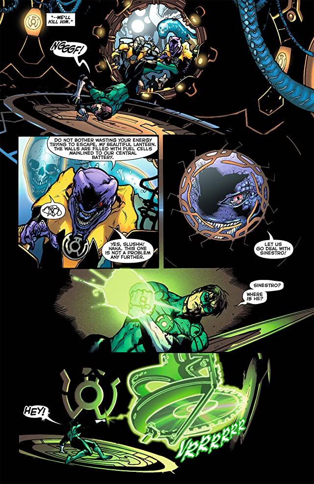 click for super-sized previews of Green Lantern (2011-) #4