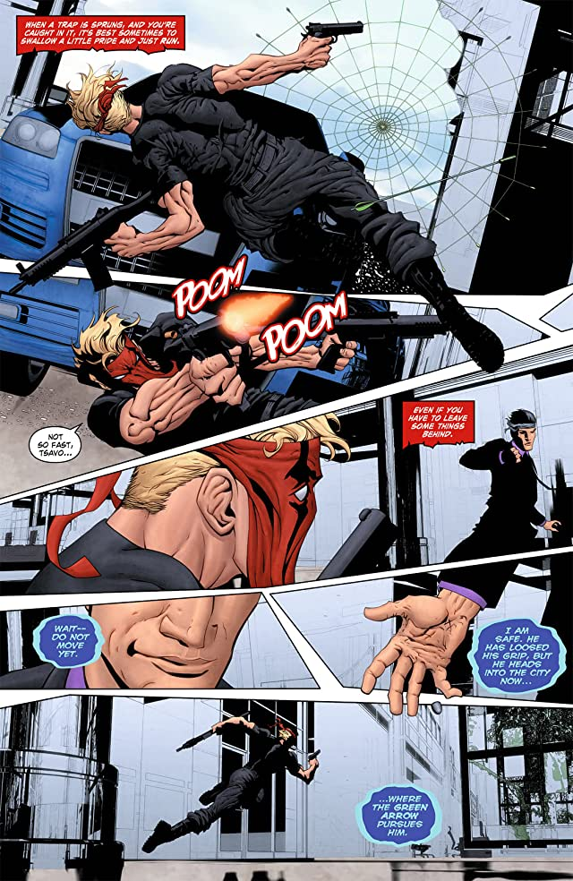 click for super-sized previews of Grifter (2011-2013) #4