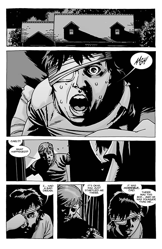 click for super-sized previews of The Walking Dead #92