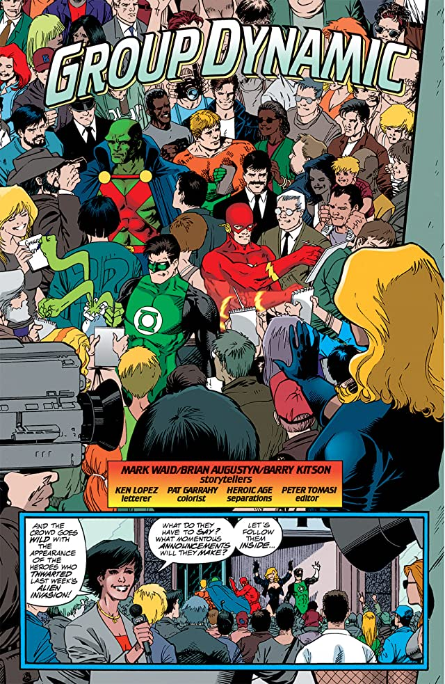 click for super-sized previews of JLA Year One #2 (of 12)