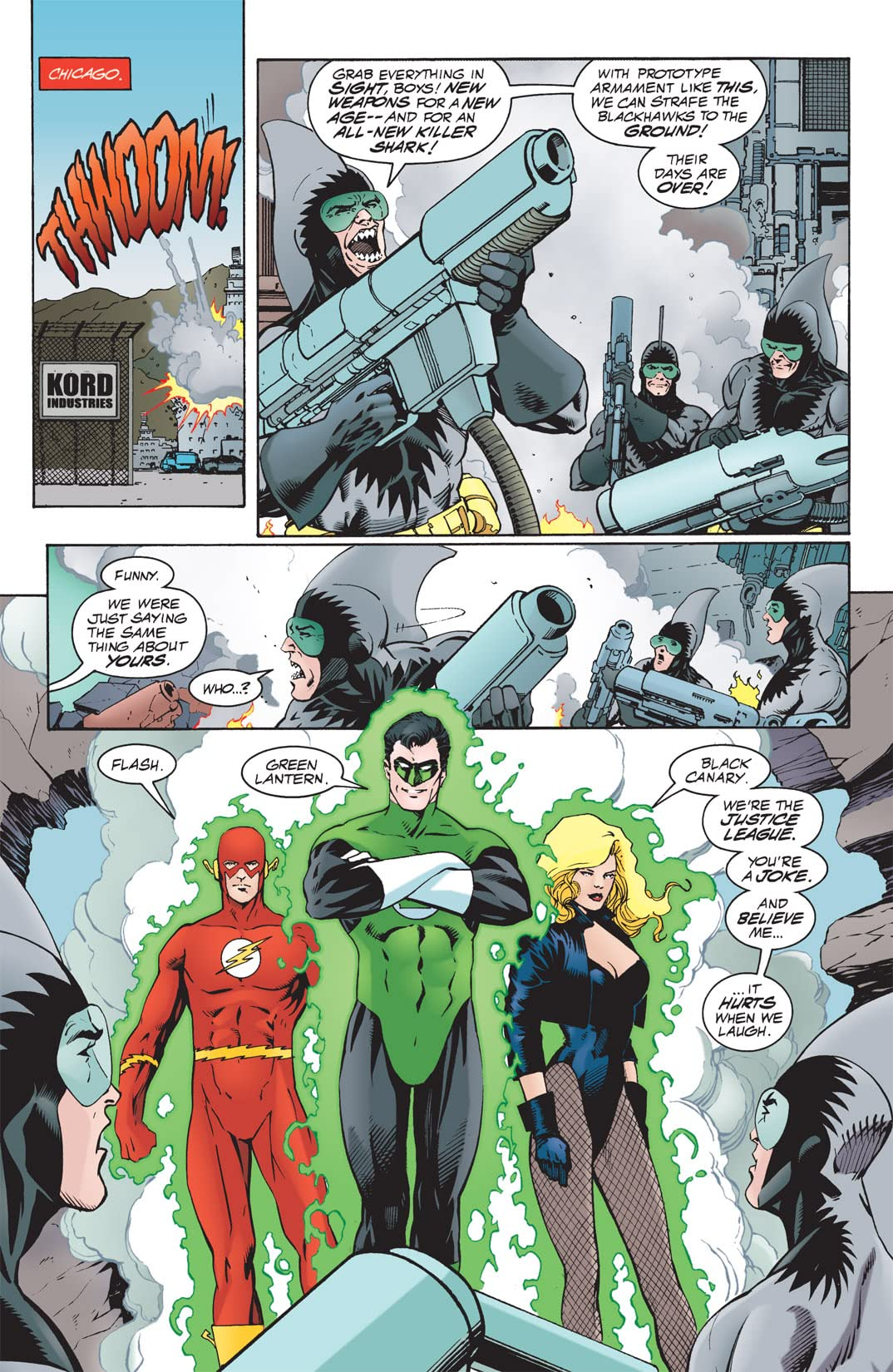 JLA Year One #3 (of 12)