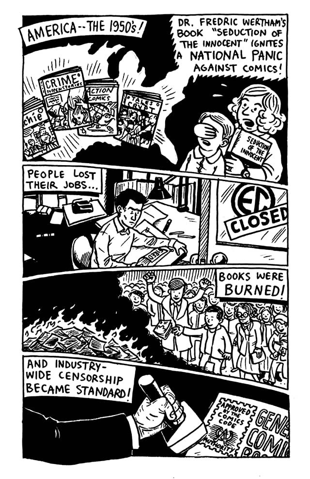 click for super-sized previews of CBLDF Year in Review: 2011 - Censorship Nightmare