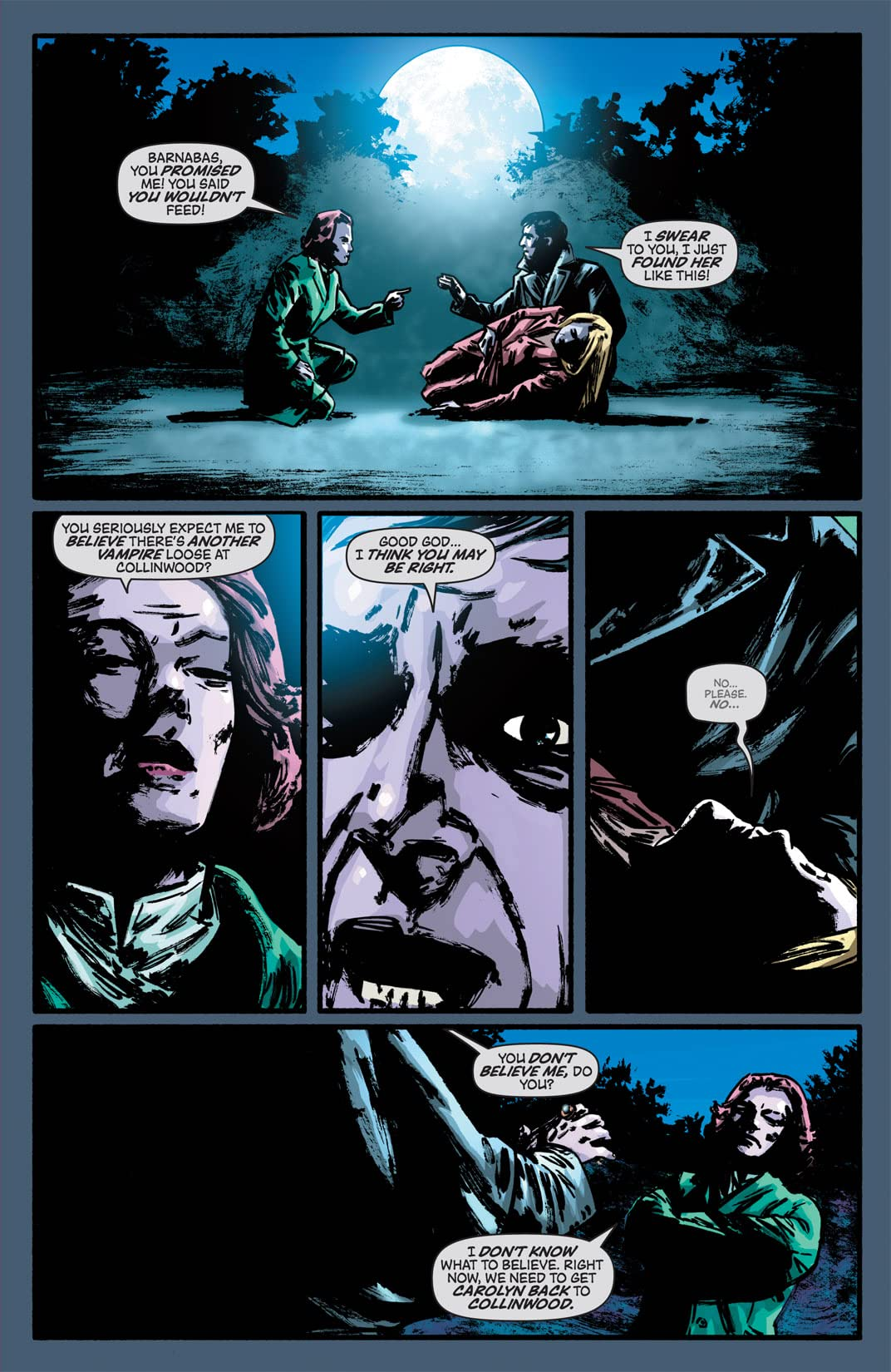 Dark Shadows (Ongoing) #2