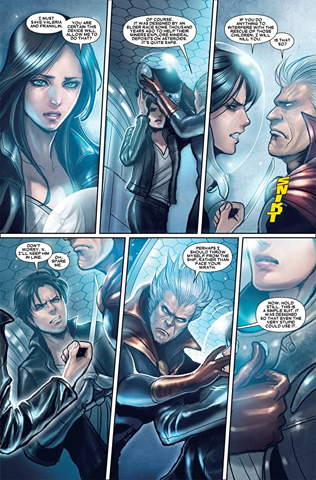 click for super-sized previews of X-23 (2010-2012) #19