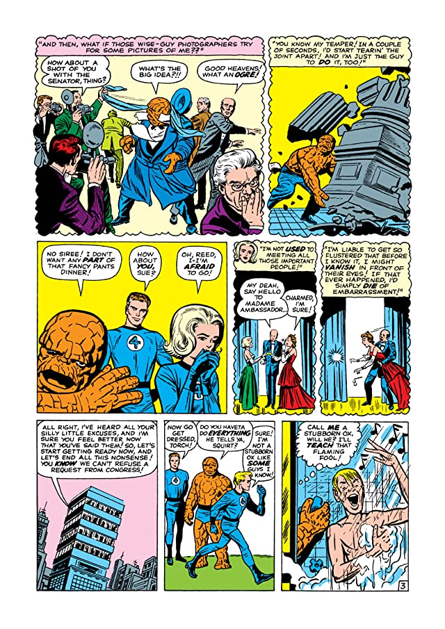 click for super-sized previews of Fantastic Four (1961-1998) #7
